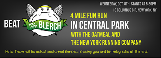 Running with the Oatmeal