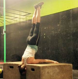 No pain, no gain: Practicing a progression for planché pose